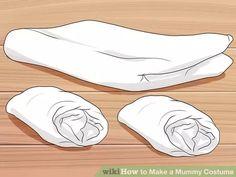 Image titled Make a Mummy Costume Step 1