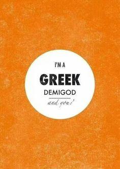I'm Greek
