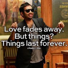 Tom loves things | #ParksandRec