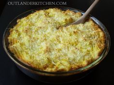 Shepherds Pie from An Echo in the Bone- Outlander kitchen. Recipes from my favorite book series. Scottish Dishes, Scottish Recipes, Irish Recipes, Lamb Recipes, Meat Recipes, Kitchen Recipes, Cooking Recipes, Tasty Kitchen, Outlander Recipes