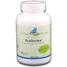 Natural Premier - EczDerma - natural herbal remedy for Eczema, 100 capsules by Natural Premier. $33.99. Helps healing reddened and scaly skin. Activates lesion skin repair. Stopping itchy skin. Restores normal healthy skin. Effectively reduces Eczema. This formula contains multiple ingredients that nourish your skin and improve your tolerance to a variety of allergens. The fundamental purpose of this formula is to remove toxins from your blood and ease your depend...