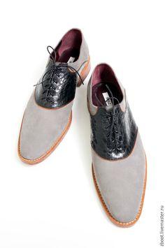 2c4853ddb Купить Туфли мужские Dublin - серый, мужские туфли, туфли кожаные, кожаная  подошва