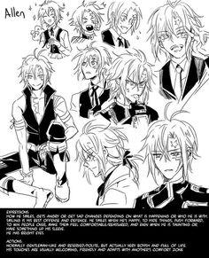 Allen Dr Grey, D Gray Man, Lenalee Lee, Allen Walker, Man Character, Am In Love, Anime Life, Fire Emblem, Sketchbook Ideas