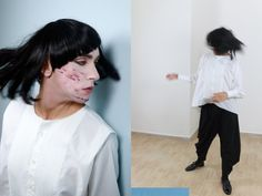 Model: Patty Owens Fashion Designer: MORE, Palermo.  Photography: Francesco Paolo Catalano
