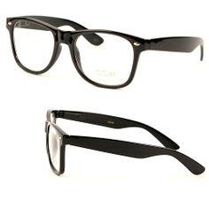 Amazon.com: Classic Vintage Buddy Nerd Wayfarer Blues Brothers Clear Sunglasses - Black: Shoes