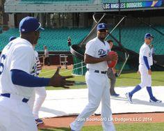 Kenley Jansen 3/19/14 Los Angeles Dodgers Workout at Sydney Crickett Ground by Jon SooHoo