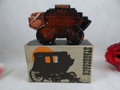 MIB 1978 Vintage Avon Aftershave Stagecoach by SecondWindShop