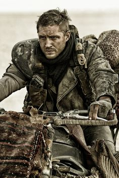 Tom Hardy as Max Rockatansky in Mad Max: Fury Road