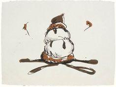Seen it. Claes Oldenburg, Profiterole, print