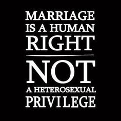 Marriage is not necessarily a religious union -- it's a civil one and marrying any adult who agrees is a civil right.