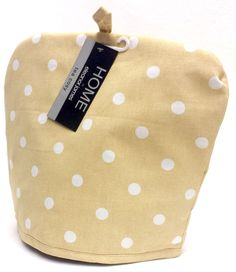 Eleanor James Home Polka Dot Kitchen Tea Cosy - Natural in Home, Furniture & DIY, Cookware, Dining & Bar, Tableware, Serving & Linen | eBay #vintage #vintagestyle #home #homestyle #polkadot #EleanorJames #kitchen #tea #teatime #teacosy #bedroom #interior #design #style #chic #retro #pretty #thatsdarling