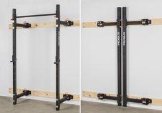 Rogue R-3W Fold Back Wall Mount Rack | Rogue Fitness