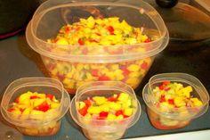 Qdoba Mango Salsa. Photo by Chef #1802800810