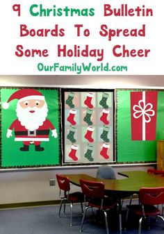 These christmas bulletin boards will add some holiday cheer to any school, medical office or anywhere else that needs some holiday spirit. Check out my ideas for some adorable DIY holiday boards.