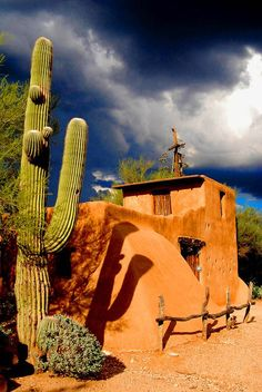 ~ It's a Colorful Life ~ — De Grazia Chapel in Tucson, Arizona (by Scuba CCK) Places To Travel, Places To See, Tucson Arizona, Arizona Usa, Desert Life, Land Of Enchantment, Parcs, Belle Photo, Beautiful Places