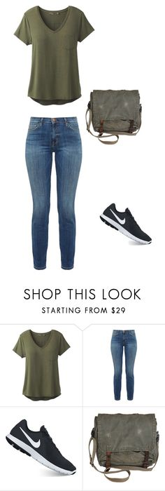 """""""Untitled #1"""" by nemetdorcsi on Polyvore featuring prAna, Current/Elliott and NIKE"""