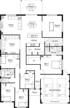 Home Plans Perth | The Bodiam | Complete Homes