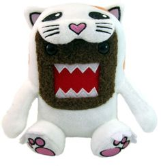 "Domo Cat Small 6"" Plush"