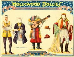 Hollywood Dollies — Rudolph Valentino
