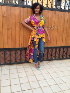 ankara top/ Ankara shirt / African top / African by AdinkraExpo