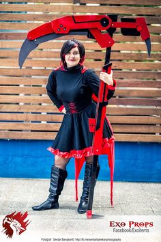 RWBY Crescent Rose  cosplay  https://www.facebook.com/Exoitems/timeline/story?ut=43&wstart=0&wend=1448956799&hash=848128932355602008&pagefilter=3