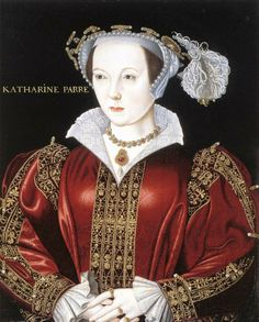 Katherine Parr by ? (National Portrait Gallery, London), sixth and last wife of Henry VIII, the one who survived him.
