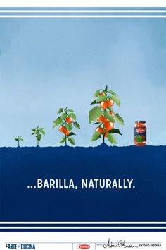 L'Arte della Cucina  2014… la naturale evoluzione di un pomodoro - Barilla, naturally.