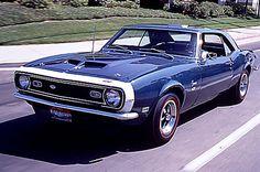 1968 COPO Camaro, 1960s Muscle Cars - A Brief History