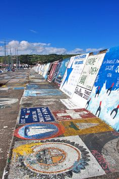 Port d'Horta, Azores, Portugal