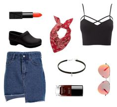 """""""1984"""" by daisydoodle11 on Polyvore featuring Chanel, Dansko, Charlotte Russe, Victoria Beckham and NARS Cosmetics"""