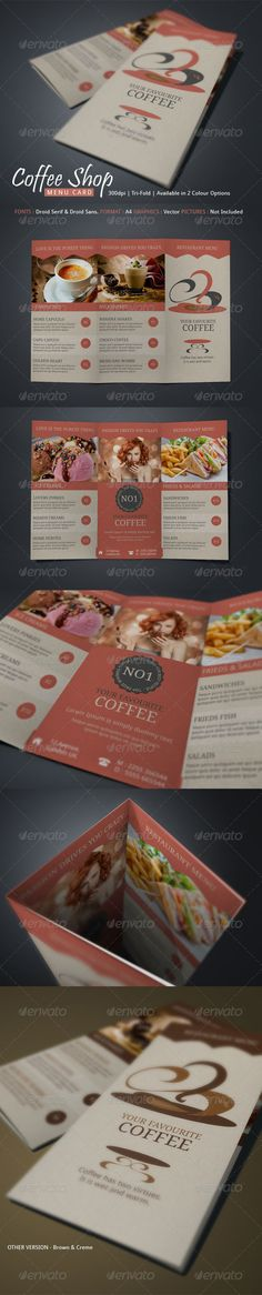 Coffee Shop Menu. List down the menus of your coffee shop.