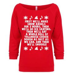 Buddy the Elf Shirt Funny Christmas Shirt Christmas Party shirt.xmas... ($22) ❤ liked on Polyvore featuring tops, black, sweaters, women's clothing, off shoulder top, going out tops, christmas party tops, shirts & tops and black top