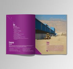 Geco Company Profile. (Alexandria, Egypt. 2012) by Nabil Saleh, via Behance