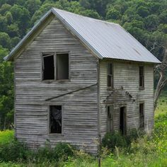 Yellow River, Abandoned Houses, National Forest, Iowa, Cabin, House Styles, Places, Home Decor, Abandoned Homes