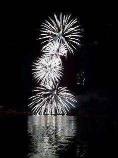Fogo de Artificio no Riu