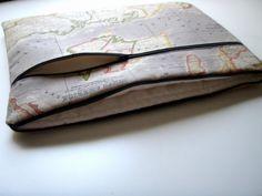173 Zoll Notebooktasche Weltkarte Handgemacht Babimini von Babimini