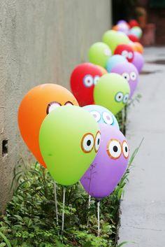 Monstrinhos - balões