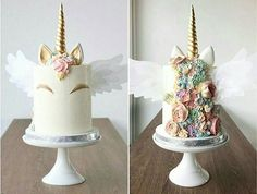Angel unicorn cake  by @foretblanc I love unicorn cake, its my favourite cake. This hair is so beautiful!! Mon gâteau favoris, le gateau licorne. Je suis jalouse de sa chevelure de rêve lol!! #unicorns #unicorn #gold #pastel #angel #ange  #unicorncake #flower #flowers #colorful #pastel #gold #pink #white #donuts #donut #macaron #meringue #eclair #food #foodporn #cake #cakes #cakedesign #baker #bakery #pastry #patisserie #amourducake #photooftheday