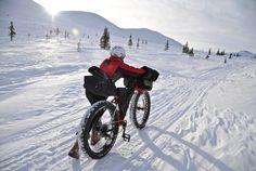 Winter Biking in the Arctic
