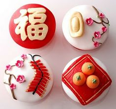i love cupcakes: Chinese New Year Cupcakes