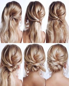 Gorgeous and Easy Homecoming Hairstyles Tutorial Long Hair - hair/make-up inspir., Gorgeous and Easy Homecoming Hairstyles Tutorial Long Hair - hair/make-up inspir. Easy Homecoming Hairstyles, Easy Hairstyles For Long Hair, Gorgeous Hairstyles, Easy Elegant Hairstyles, Low Bun Hairstyles, Bridesmaid Hairstyles, Work Hairstyles, Hair For Homecoming, Bridal Hairstyles