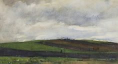 Floris Arntzenius (1864-1925) - Landscape on a showery day