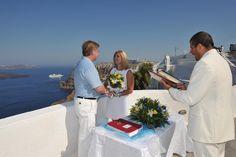 Vow Renewal in Santorini   Divine Weddings in Santorini   Wedding Packages, Vow Renewals, Honeymoon packages, wedding planners