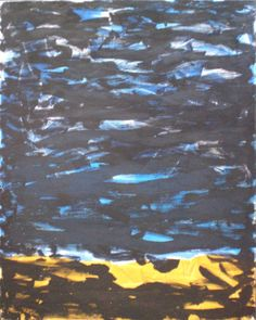 Crisp by Mike Coker - NZ based abstract painter $550 NZD