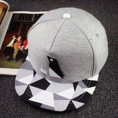 55d60a885048b New men s summer fashion paper fold plastic logo bone baseball cap men 2016  cotton cartoon sports snapback black caps for men