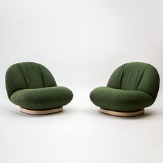 Pierre Paulin, l'homme moderne Pair of Pacha Chairs, 1975 – Sofa Design 2020