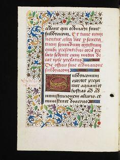 Porrentruy, Bibliothèque cantonale jurassienne, Ms. 10, f. 98v – Pontifical of Charles de Neufchâtel, Archbishop of Besançon