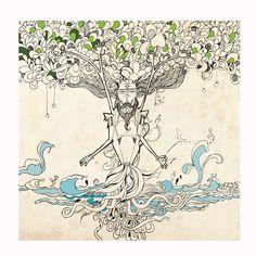 Tree of Life by ROHIT SHARMA, via Behance