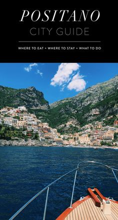 Positano Travel Guide - Rounding up all the best places to eat, drink, sleep and what to do in the fabulous city of Positano! // Amalfi Coast Guide featuring everything you need to know about Positano :)