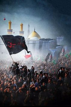 Labaik Ya Hussain r. Ya Hussain Wallpaper, Imam Hussain Wallpapers, Islamic Images, Islamic Pictures, Karbala Pictures, Muharram Wallpaper, Imam Hussain Karbala, Karbala Photography, Islamic Wallpaper